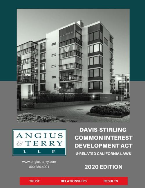 Davis-Stirling Act 2018